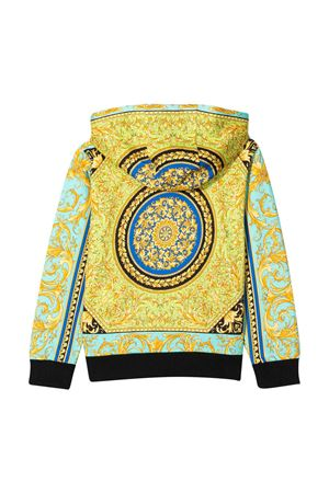 Sweatshirt with baroque press Young Versace YOUNG VERSACE | -108764232 | YD000096A232752A7480