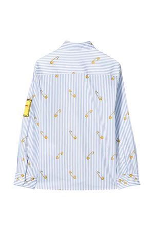 Light blue shirt with multicolor press Young Versace YOUNG VERSACE | 5032334 | YD000158A233568A7844