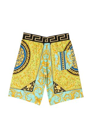 Bermuda shorts with baroque press Young Versace YOUNG VERSACE | 30 | YD000184A232752A7480
