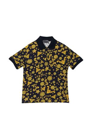 Teen polo shirt with baroque press Young Versace YOUNG VERSACE | 2 | YD000210A232753A7388T