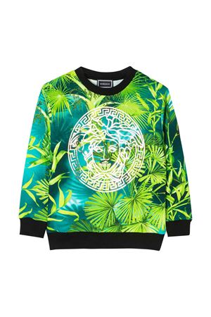 Sweatshirt with multicolor press Young Versace YOUNG VERSACE | -108764232 | YD000304A235480A7488