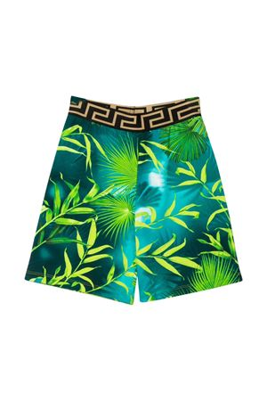 Teen shorts with multicolor press Young Versace YOUNG VERSACE | 30 | YD000305A235480A7488T