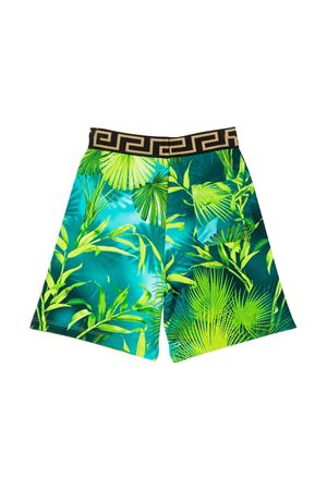 Shorts con stampa multicolor Young Versace YOUNG VERSACE | 30 | YD000305A235480A7488