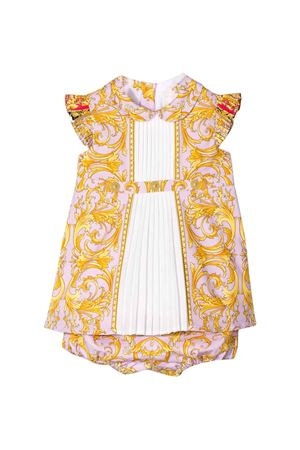 Pink dress with pleated bib Young Versace YOUNG VERSACE | 11 | YE000111A232779A7252