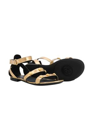 Metallic effect sandals with studs Young Versace YOUNG VERSACE | 5032315 | YHF00032YB00035YSZZ