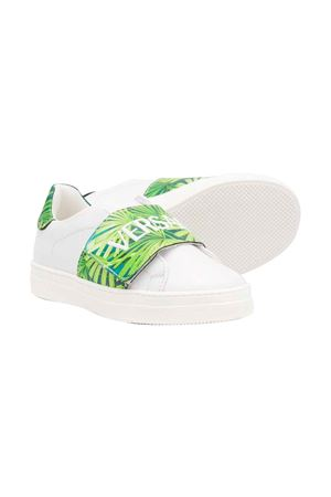 White sneakers with logo Young Versace YOUNG VERSACE | 12 | YHX00010YB00332YSWG