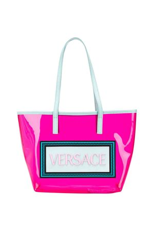 Pink bag with frontal logo Young Versace YOUNG VERSACE | 31 | YIF00012YB00276YY57
