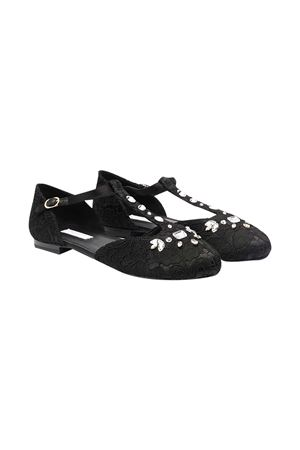 Scarpe nere teen Dolce e Gabbana kids Dolce & Gabbana kids | -216251476 | D10927AR32980999T