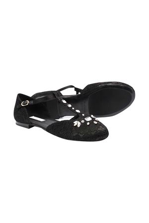 Black teen shoes Dolce and Gabbana kids  Dolce & Gabbana kids | -216251476 | D10927AR32980999T