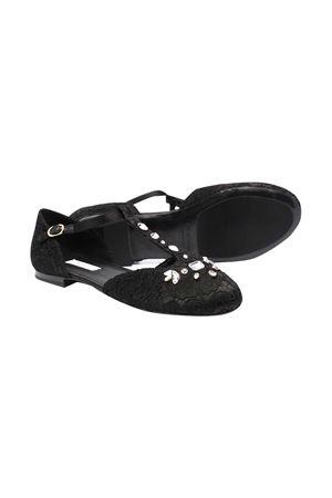 Dolce and Gabbana kids black shoes  Dolce & Gabbana kids | -216251476 | D10927AR32980999