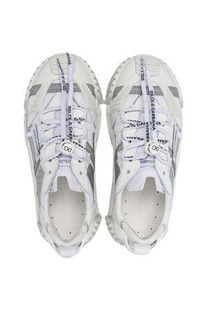 Dolce & Gabbana Kids chunky white sneakers Dolce & Gabbana kids | 90000020 | DA0974AO2248B930