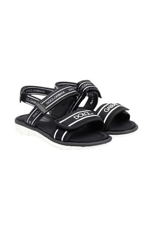 Black sandals Dolce & Gabbana Kids Dolce & Gabbana kids | 5032315 | DL0066AO2608B939