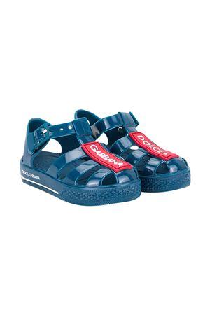 Sandali blu Dolce & Gabbana Kids Dolce & Gabbana kids | 5032315 | DN0115AK49880659
