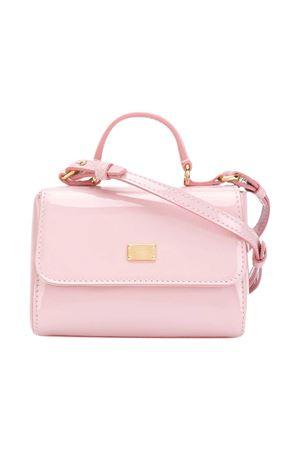 Pink shoulder bag Dolce & Gabbana Kids  Dolce & Gabbana kids | 31 | EB0103A147180416
