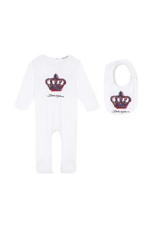 Tutina bianca neonato Dolce & Gabbana Kids Dolce & Gabbana kids | 75988882 | L1JO2AG7WUFHW2FH
