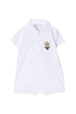 Body con ricamo Dolce & Gabbana Kids Dolce & Gabbana kids | 1491434083 | L1JO2HG7YGMW0800