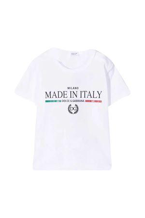 T-shirt bianca Dolce & Gabbana Kids Dolce & Gabbana kids | 8 | L1JT6SG7YFFW0800