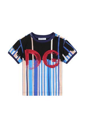 T-shirt a righe Dolce & Gabbana Kids Dolce & Gabbana kids | 8 | L1JT8AG7WUEHC2AE
