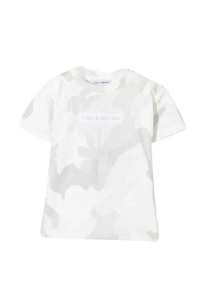 T-shirt bianca Dolce & Gabbana Kids Dolce & Gabbana kids | 8 | L1JT8EG7YISS9000