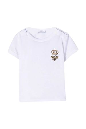 T-shirt bianca neonato Dolce & Gabbana Kids Dolce & Gabbana kids | 8 | L1JTCQG7YGNW0800
