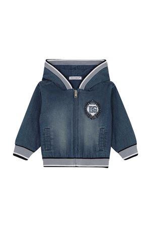 Felpa con ricamo Dolce&Gabbana Kids Dolce & Gabbana kids | 5032280 | L1JW1HG7YDZS9050