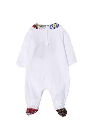 Tutina bianca neonato Dolce & Gabbana Kids Dolce & Gabbana kids | 75988882 | L2JG19G7YRIS9000
