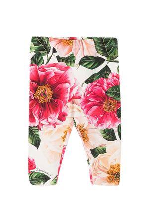 Dolce & Gabbana Kids floral leggings Dolce & Gabbana kids | 411469946 | L2JP5BFSGUDHA2AI
