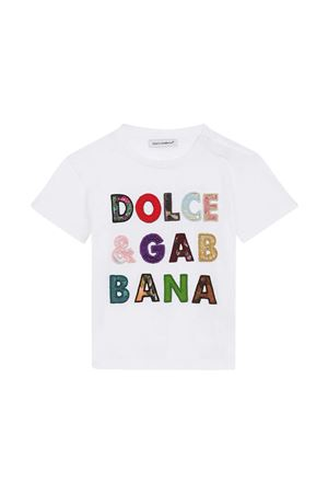 T-shirt bianca neonato Dolce & Gabbana Kids Dolce & Gabbana kids | 8 | L2JTFFG7YPJW0800