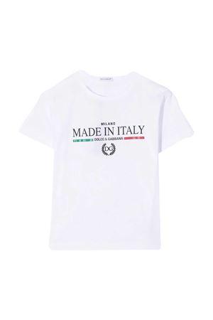 White t-shirt Dolce & Gabbana Kids Dolce & Gabbana kids | 8 | L4JT6SG7YFFW0800