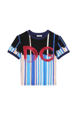 T-shirt multicolore Dolce & Gabbana Kids Dolce & Gabbana kids   8   L4JT8AG7WUEHC2AE