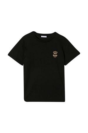 Black t-shirt Dolce & Gabbana Kids  Dolce & Gabbana kids | 8 | L4JTCQG7YGNN0000