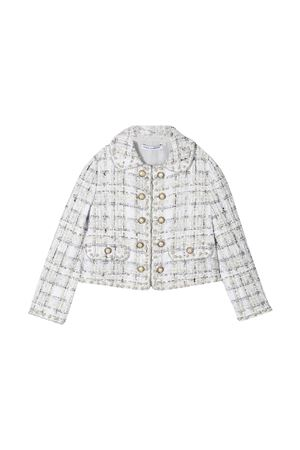 Giacca bianca Dolce & Gabbana Kids Dolce & Gabbana kids | 3 | L52E16FQOADS8100