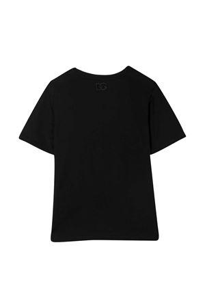 T-shirt nera Dolce & Gabbana Kids Dolce & Gabbana kids | 8 | L5JTCGG7XVNN0000