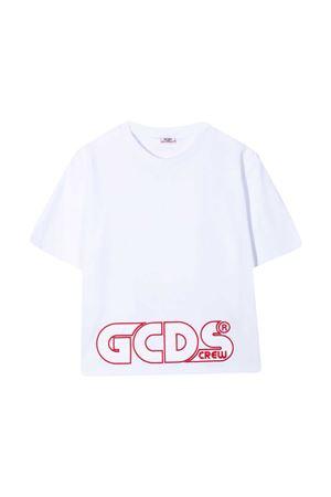 White teen GCDS kids t-shirt  GCDS KIDS | 8 | 027592001T