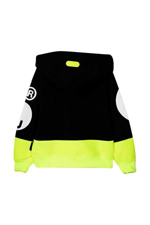 Black and yellow GCDS kids sweatshirt  GCDS KIDS | -108764232 | 027613FL110/28