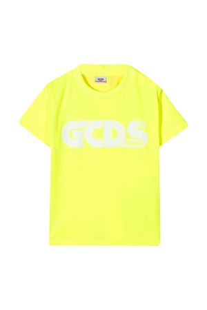 T-shirt giallo fluo GCDS kids  GCDS KIDS | 8 | 027614FL023