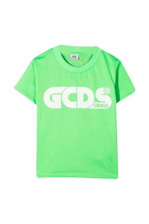 Neon green teen GCDS kids t-shirt  GCDS KIDS | 8 | 027614FL169T