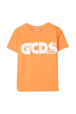 GCDS kids orange teen t-shirt  GCDS KIDS | 8 | 027614FL176T