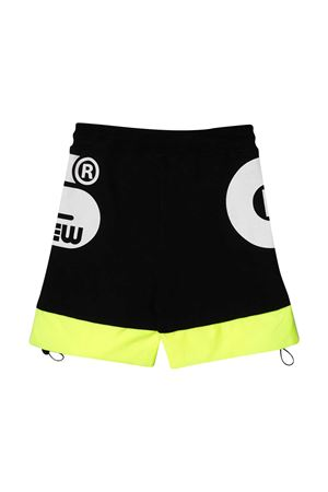 Black Gcds Kids sports shorts  GCDS KIDS | 30 | 027615110/28