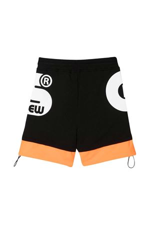 Black Gcds Kids shorts  GCDS KIDS | 30 | 027615110/51