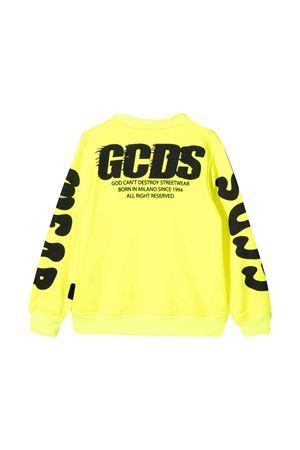 Gcds Kids yellow sweatshirt  GCDS KIDS | -108764232 | 027635FL023