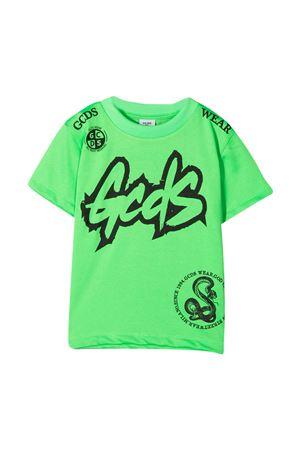 Gcds Kids green t-shirt  GCDS KIDS | 8 | 027636FL169