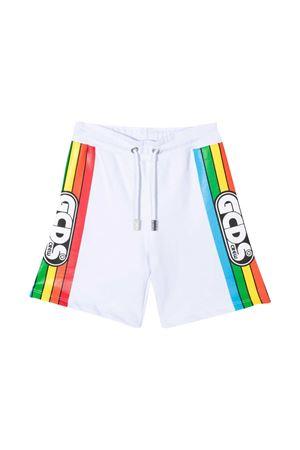 Shorts con dettaglio a righe Gcds kids GCDS KIDS | 30 | 027654001