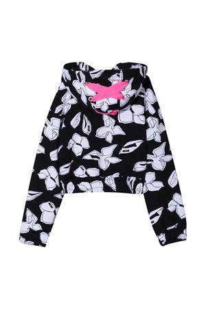 Black GCDS kids sweatshirt  GCDS KIDS   -108764232   027656110