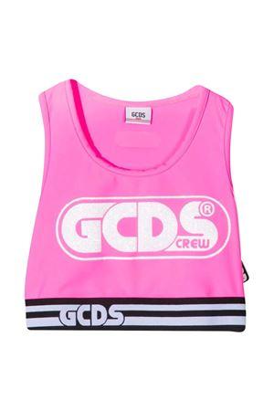 Top teen con stampa crop Gcds kids GCDS KIDS | 40 | 027659FL200T