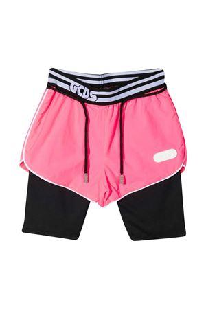 Shorts con design color-block Gcds kids GCDS KIDS | 30 | 027664200
