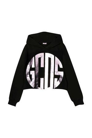 Black GCDS kids sweatshirt  GCDS KIDS   -108764232   027673110