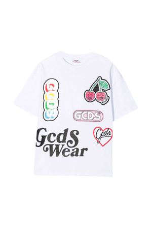 White t-shirt teen GCDS kids  GCDS KIDS   8   027684001T