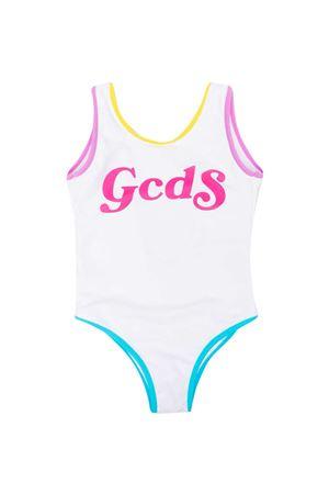 Gcds Kids white one-piece swimsuit  GCDS KIDS   85   027965001