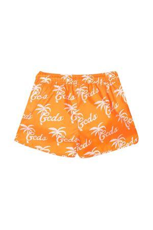 Teen swim shorts with Gcds kids press GCDS KIDS | 85 | 027969033T